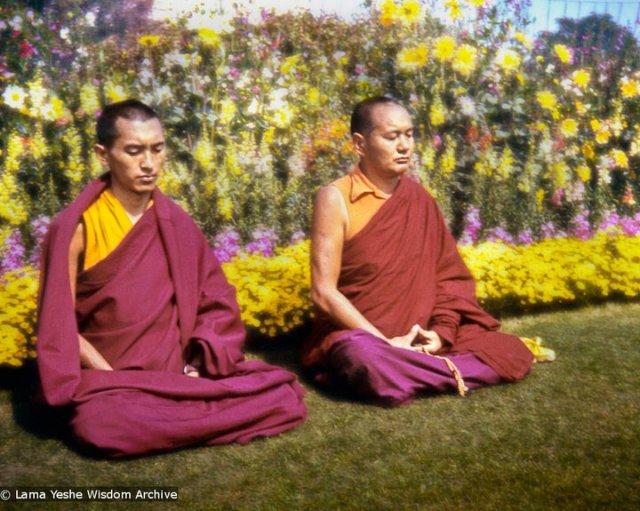 Meditacion (Lama Yeshe and Lama Zopa Rinpoche)